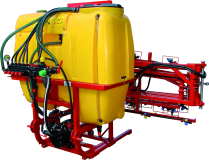 Suspended field sprayers with boom 15 – 18 m